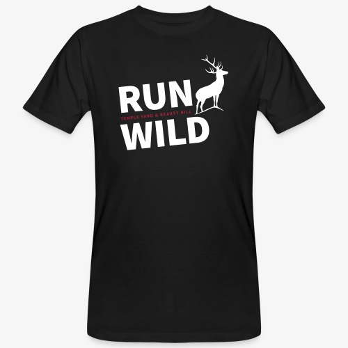 RUN WILD Temple Yard & Beauty Hill - Männer Bio-T-Shirt