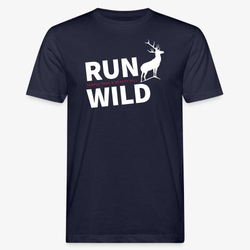 RUN WILD Temple Yard & Beauty Hill - Männer Bio-T-Shirt