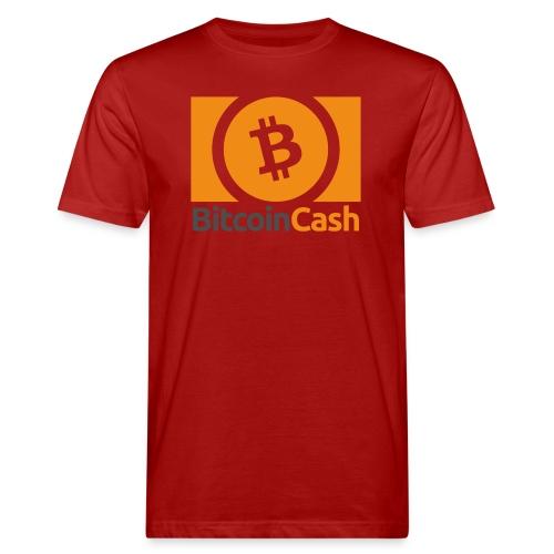 Bitcoin Cash - Miesten luonnonmukainen t-paita