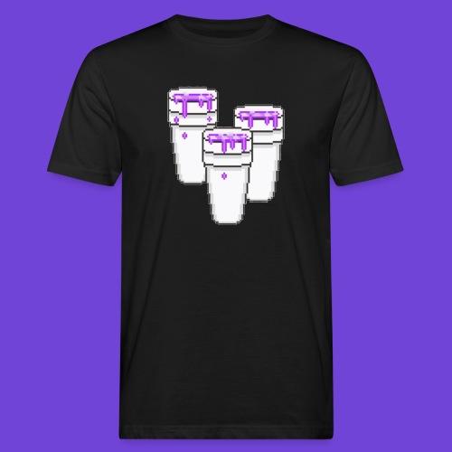 Purple - T-shirt ecologica da uomo
