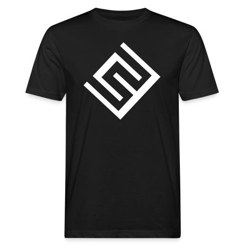 ChrisWhippit Logo Vit - Ekologisk T-shirt herr