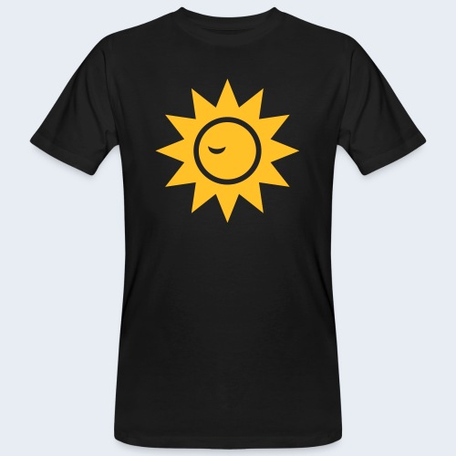 Winky Sun - Mannen Bio-T-shirt