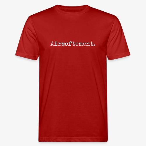 Airsoftement. (Blanc) - T-shirt bio Homme