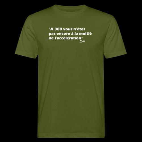 380 (blanc) - T-shirt bio Homme