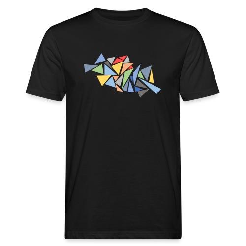 Modern Triangles - Men's Organic T-Shirt