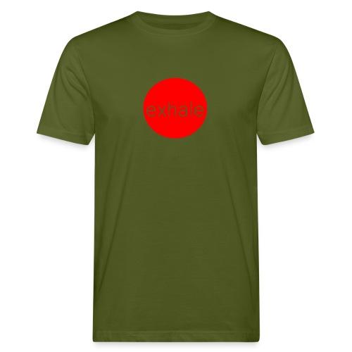 exhale - Men's Organic T-Shirt