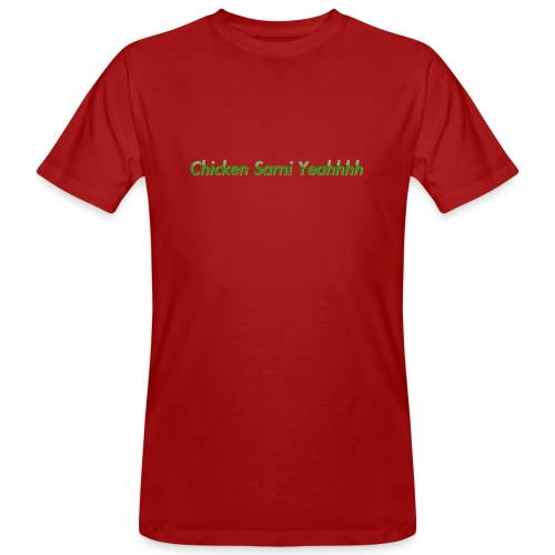 Chicken Sarni Yeah - Men's Organic T-Shirt