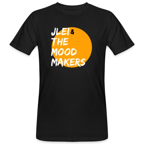 Jlei & The Mood Makers Bandlogo - Männer Bio-T-Shirt
