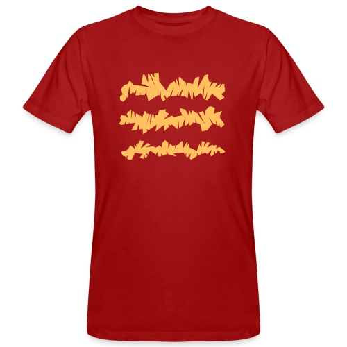 Orange_Sample.png - Männer Bio-T-Shirt