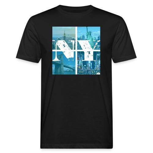 NEW YORK BLUE - Männer Bio-T-Shirt