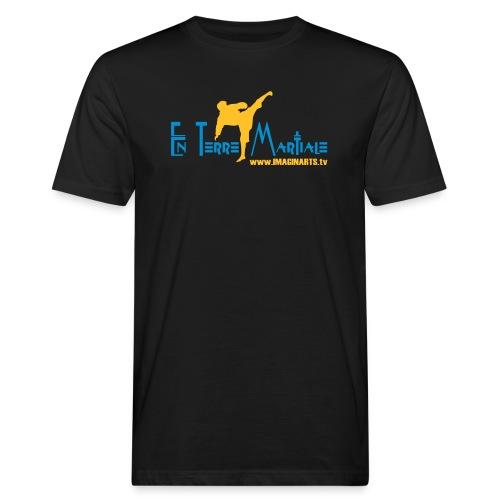 ETM bleu - T-shirt bio Homme