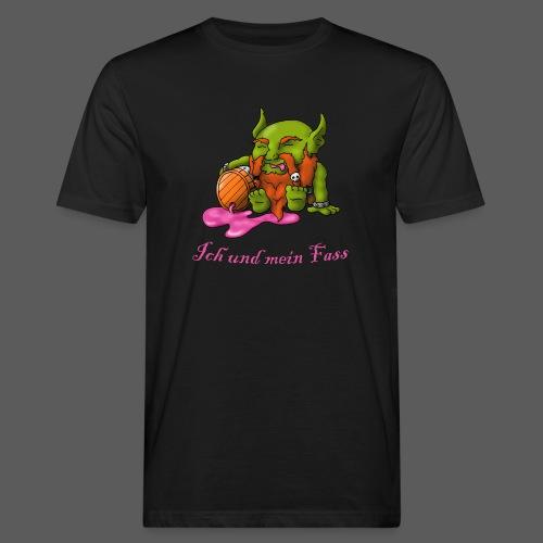 Ich und mein Fass - Männer Bio-T-Shirt