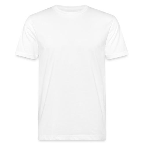 TYHJIÖ Logo White - Miesten luonnonmukainen t-paita