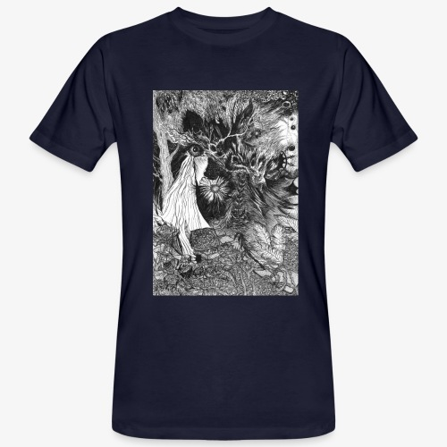 Enter the Linear Dream Orig Edition by Rivinoya - Miesten luonnonmukainen t-paita