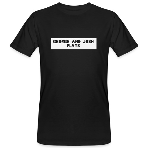 George-and-Josh-Plays-Merch - Men's Organic T-Shirt