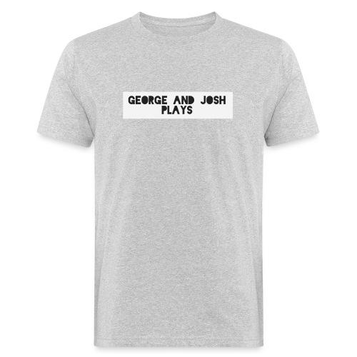 George-and-Josh-Plays-Merch - Men's Organic T-Shirt