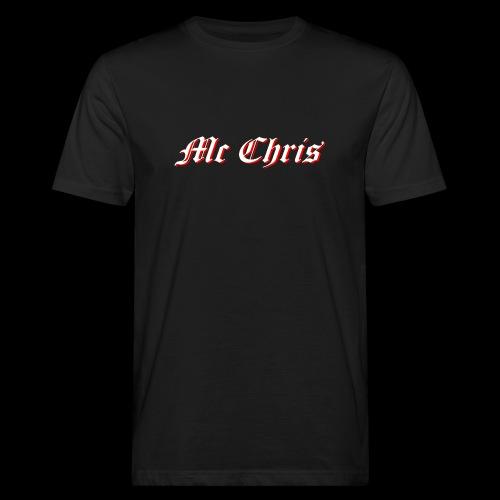 McChrislOGO11 - Männer Bio-T-Shirt