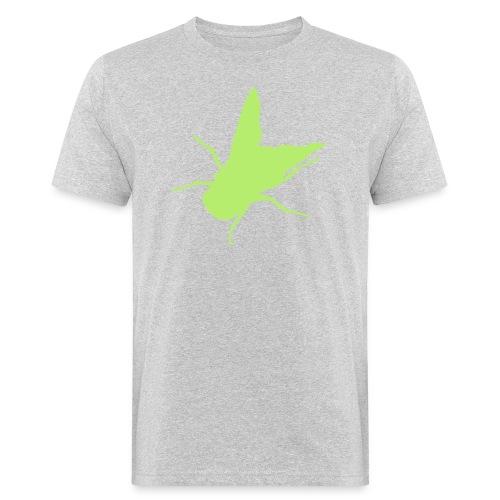 fliege - Männer Bio-T-Shirt