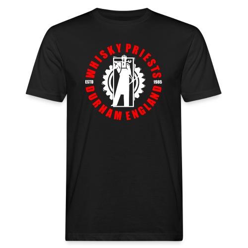 IRON MAN LOGO RED WHITE TRANS - Men's Organic T-Shirt