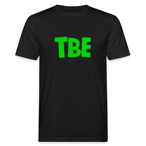 Logo groen - Mannen Bio-T-shirt
