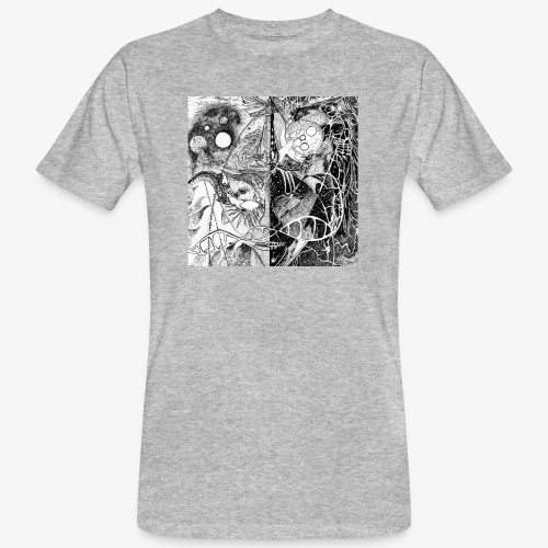 Universe in us all Square edition by Rivinoya - Miesten luonnonmukainen t-paita