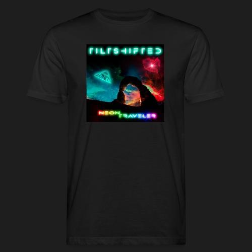 TiltShifted - Neon Traveler - Miesten luonnonmukainen t-paita