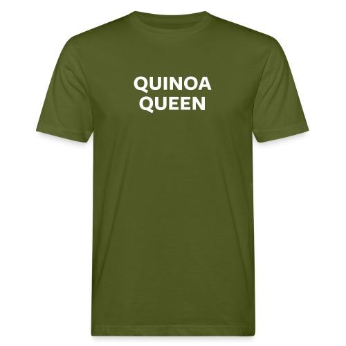 Quinoa Queen Night Mode - Men's Organic T-Shirt