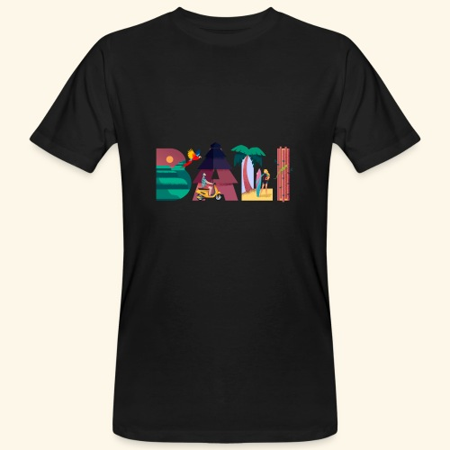 Bali Indonesien Insel Paradies Natur Kultur Ferien - Männer Bio-T-Shirt