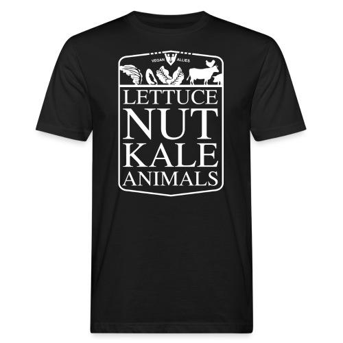 LETTUCE NUT BALL ANIMALS - Men's Organic T-Shirt