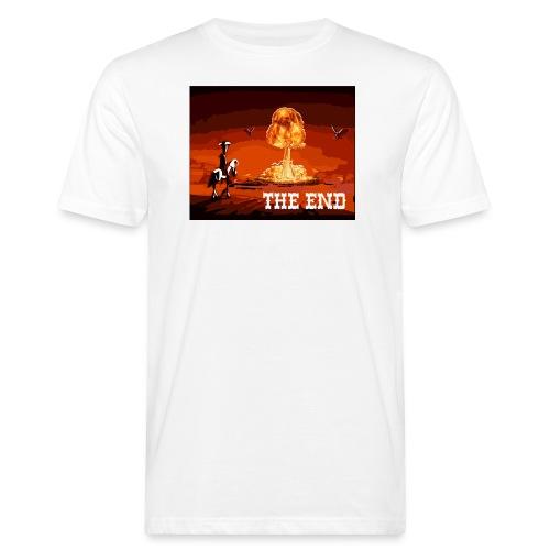 THE END (version 2 : pour toute couleur de fond) - T-shirt bio Homme
