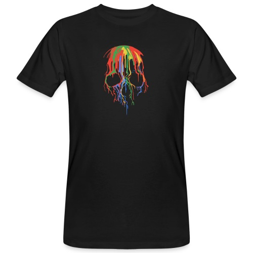 Skull and Colours - Camiseta ecológica hombre
