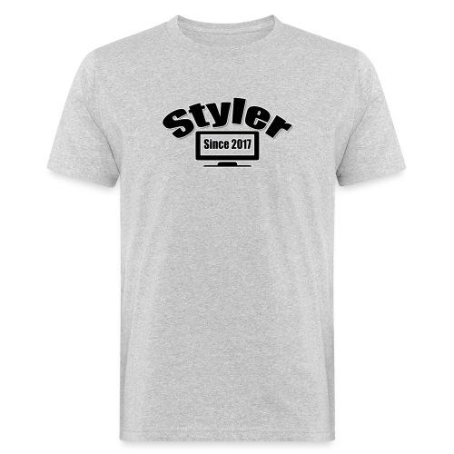 Styler Designer Kleding - Mannen Bio-T-shirt