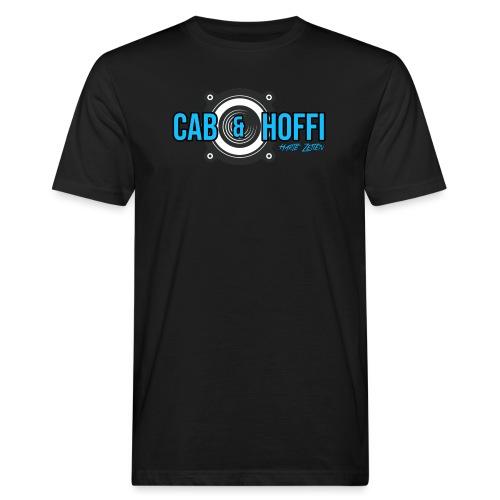 cab & Hoffi Logo HZ - Männer Bio-T-Shirt
