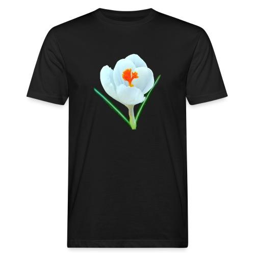 TIAN GREEN - Krokuss 2020 - Männer Bio-T-Shirt