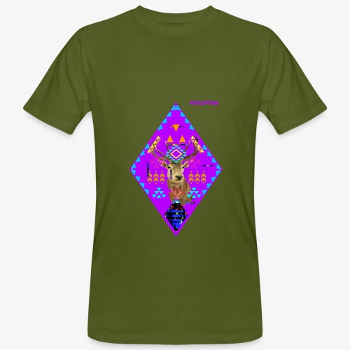 CERF PERCEPTION - PERCEPTION CLOTHING - T-shirt bio Homme