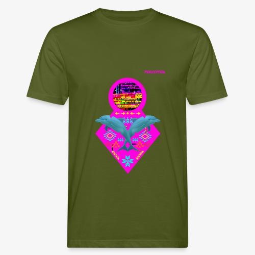 DAUPHINS PERCEPTION - PERCEPTION CLOTHING - T-shirt bio Homme