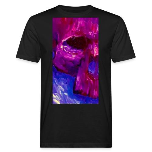 Purple Skull #2 - Mannen Bio-T-shirt