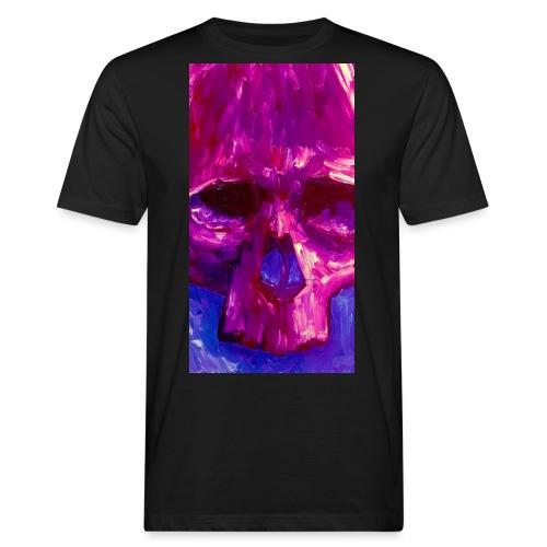 Purple Skull - Mannen Bio-T-shirt