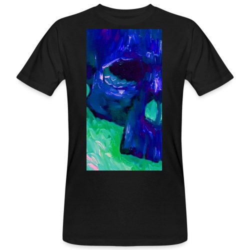 Blue Skull #2 - Mannen Bio-T-shirt
