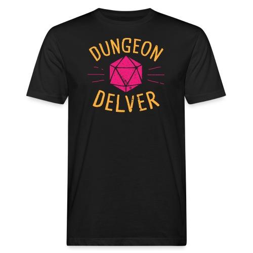 Dungeon Delver yellow pink - Men's Organic T-Shirt
