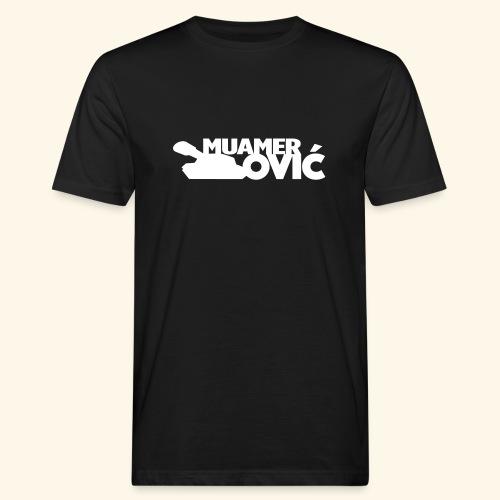 tankovic_vit_tryck - Ekologisk T-shirt herr