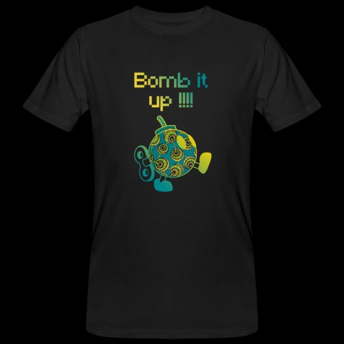 Bomb It Up : Green Power !!! - T-shirt bio Homme