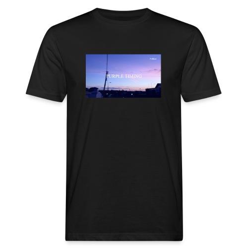 Purple Timing - Men's Organic T-Shirt