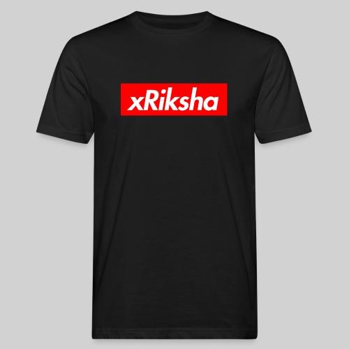 xRiksha - Box logo - Miesten luonnonmukainen t-paita