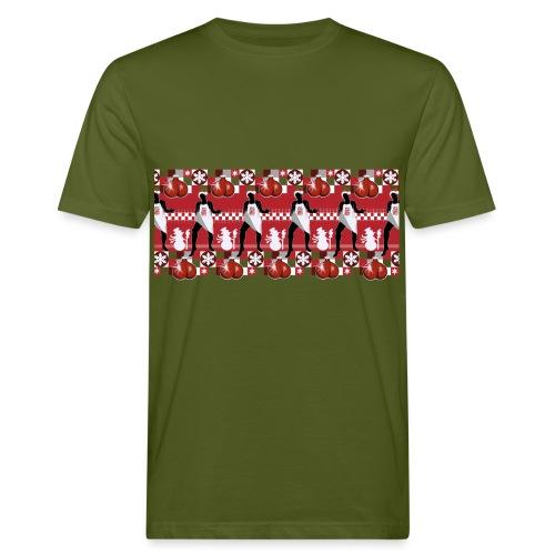 Motif Noël J'ai les boules (sans texte) - T-shirt bio Homme