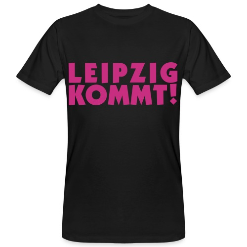 leipzigkommt leipziger leipzig - Männer Bio-T-Shirt