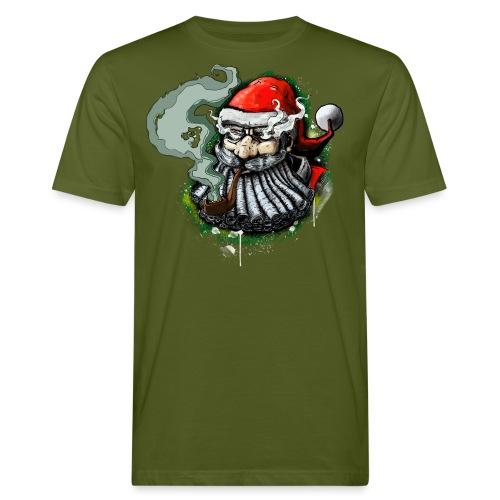 Santa SMOKED - Men's Organic T-Shirt