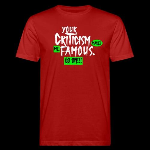 CRITICA 2 - Camiseta ecológica hombre