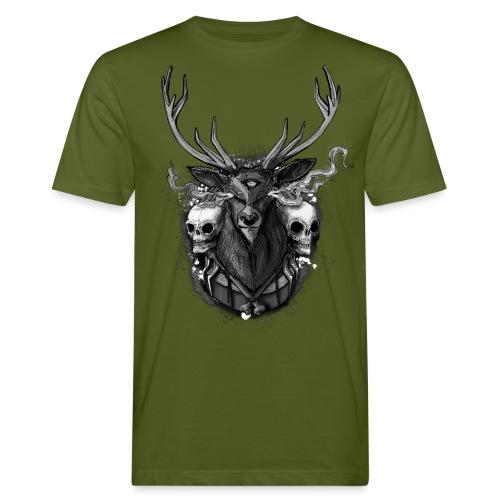 Deer - BONE SQL PRY - Men's Organic T-Shirt