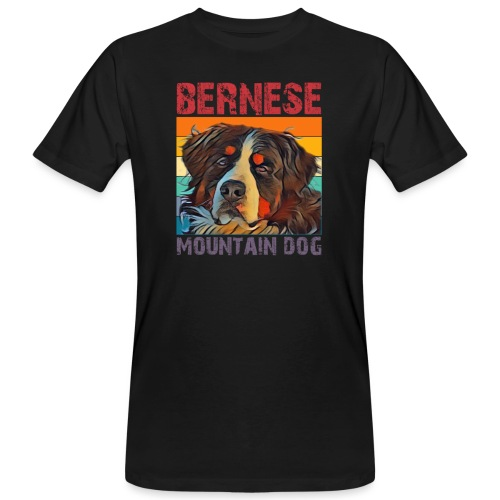Bernese mountain dog - Mannen Bio-T-shirt